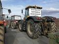 Protestná jazda poľnohospodárov: Zablokujú cesty v piatkovej dopravnej špičke