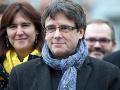 Puigdemont sa teší: Umožnili mu kauciu, na sa slobodu dostane zrejme najskôr v piatok