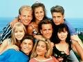 Hviezdy seriálu Beverly Hills 90210.
