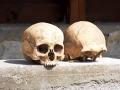 Šokovaná polícia v Mexiku: Pri zásahu proti gangu našli morbídny oltár z ľudských lebiek
