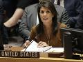 Tvrdý postoj USA k chemickému útoku v Sýrii: Sú pripravené na odvetu, varovala Haleyová