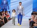 Po móle sa prešiel aj herec Braňo Deák s detským hereckým kolegom Tobiasom Králom.