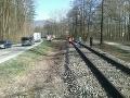 FOTO Tragédia v Rajeckých Tepliciach: Po zrážke s vlakom zahynul cyklista