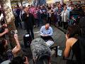 V Budapešti sa protestovalo proti zatvoreniu opozičného denníka: Šanca na záchranu je mizivá