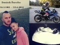 Policajta Dominika (†23) zabila jeho vášeň: FOTO Smrť zobrala otca dvom deťom, dojímavé gesto