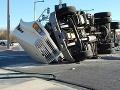 Bizarná nehoda v Nemecku: Kamión pri prechádzaní zákrutou vysypal na pole množstvo rýb