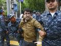 Veľké protivládne protesty v Arménsku: FOTO Zablokované ulice a desiatky zadržaných ľudí