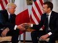 Trump telefonicky diskutoval s Macronom: Irán sa znovu chystá porušiť jadrovú dohodu