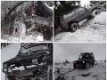 Pätica mužov ničila Národný park jazdou terénnym autom: VIDEO Dôkaz si vyrobili sami