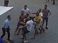 Policajné zábery z útoku v Prahe.