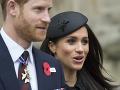Princ Harry a jeho snúbenica Meghan Markle.