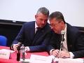 Peter Pellegrini a Martin Glváč