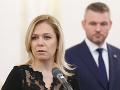Denisa Saková a Peter Pellegrini