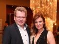 Hudobný odborník Juraj Čurný s manželkou Andreou.