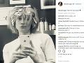 Diane Kruger zverejňuje na sociálnych sieťach aj takéto momentky.