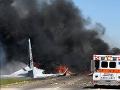 Pád vojenského nákladného lietadla v americkom štáte Georgia: Nešťastie má päť obetí