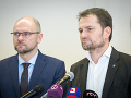 Igor Matovič a Richard Sulík