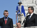 FOTO Politici si uctili pamiatku Štefánika na Bradle: Rečnili Danko aj Pellegrini