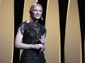 Cate Blanchett počas otvorenia 71. ročníka Medzinárodného filmového festivalu v Cannes.