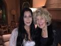 Cher so svojou mamou.