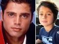 Syn Shaya sa na Davida Charveta výrazne ponáša, tmavé oči má po mame.