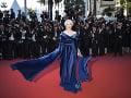 Helen Mirren na premiére ohúrila v takejto róbe.