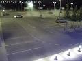Opitý Šimon sa predvádzal na bratislavskom parkovisku: VIDEO Driftovanie skončilo v stĺpe