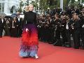 Cate Blanchett zaujala róbou s výraznou sukńou.
