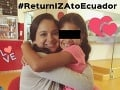 Detaily prípadu ekvádorskej mamy: VIDEO Zúfalá žena prosí Slovensko, aby jej vrátilo dcérku