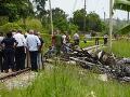 Kubánske lietadlo sa zrútilo krátko po štarte.