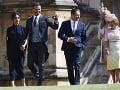 Na svadbe nechýbajú ani manželia Victoria a David Beckhamovci. Jeden z najsledovanejších párov nesklamal. Vyzerajú dokonale.