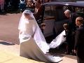 Prvé zábery svadobných šiat Meghan Markle.