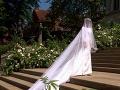 Nevesta Meghan Markle vo svadobných šatách.