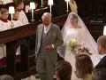 Princ Charles a Meghan Markle
