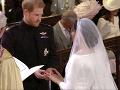 Harry a Meghan sú odteraz manželmi
