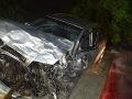 Tragická nehoda: FOTO Do otca dvoch detí (†38) čelne narazil Matúš (20) v Audi A4