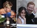 Lady Diana zomrela viac ako 20 rokov pred svadbou Harryho a Meghan.