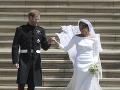 Meghan Markle sa v sobotu vydala za princa Harryho.