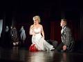 Michaela Várady ako Donna Anna a Maksym Kutsenko ako Don Octavio v novom naštudovaní opery Don Giovanni v Štátnom divadle Košice.