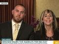 Synovci Tyler a Thomas so svojou mamou. Tá bola manželkou Meghaninho nevlastného brata Thomasa.