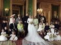 Oficiálna svadobná fotografia Meghan Markle a princa Harryho