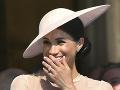 Debut vojvodkyne Meghan: Nenápadné dotyky a chichot!