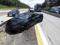 Cudzinec na Lamborghini sa chcel zaradiť na poslednú chvíľu: FOTO Nestihol to a takto sa to skončilo