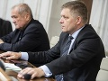 Dušan Muňko a Robert Fico