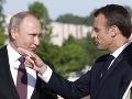 Vladimir Putin a Emmanuel
