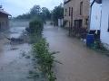 Obrovské búrky zasiahli strednú Európu: Povodne v Česku, lejaky aj na Slovensku