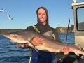 Odstrašujúce VIDEO: Rybár vyčistil žalúdok žraloka, jeho obsah vás šokuje