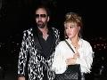 Nicolas Cage na rande so svojou mladučkou milenkou.