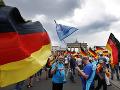 Tisícky podporovateľov Európskej únie v nemeckých mestách: Demonštrovali proti nacionalizmu