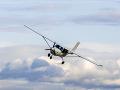 Tragický pád malého lietadla
